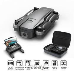 Holy Stone HS720 Foldable 5G FPV GPS Drone 4K Camera Quadcopter Brushless +Case