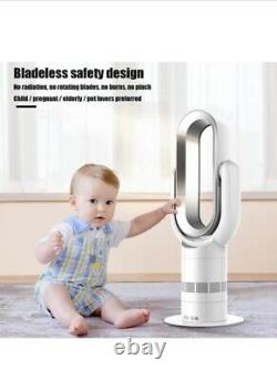 Hot And Cold Bladess Fan With Remote Control RRP £159! BARGAIN PRICE