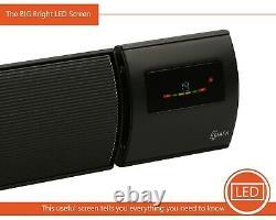 KIASA -1200W Far Infrared Heater Bar -Remote + WiFi -Wall & Ceiling Mount -IP44