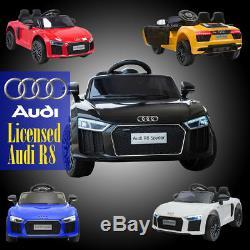 Kids Electric Ride On Audi R8 Spyder Licensed 12v Kids Car/jeep Remote Control