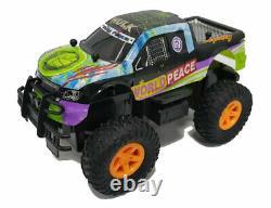 Kids Hulk Monster Truck Remote Control Big Wheel High Speed Toy
