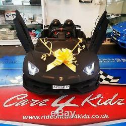 Kids Lamborghini Aventador SVJ Electric Ride On Car Remote Control