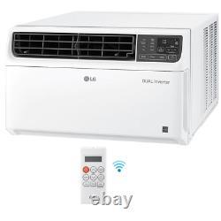 LG Electronics Window Air Conditioner 18000 BTU Dual Inverter Digital Control