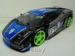 Large Fast Lambo Sports Drift 4wd Rc Remote Control Car 1/10 Rechargeable