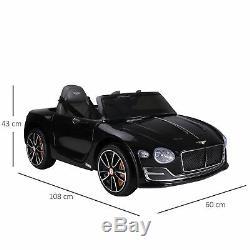 Licensed Bentley Kid Electric Ride-on Car Twin motors Parental Remote Control