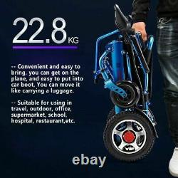 Lightweight Electric Power Wheelchair Mobility Aid Motorized Electric Wheelchair