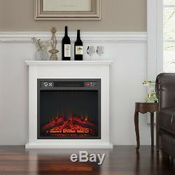 Luxury 1800W Electric Fireplace Suite LED Log Fire Burning Flame MDF Surround