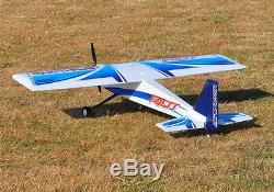 Max-Thrust Riot V2 Radio Remote Control Model Plane Blue