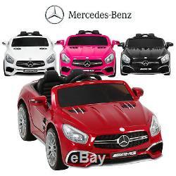 Mercedes Benz AMG SL65 Kids Ride On Car 12V Licensed Electric Remote Control