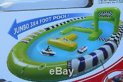 Mini Rc Boats Twin Set + Pool Radio Remote Control Boats Gift Set 2.4ghz