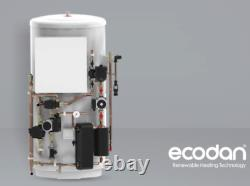 Mitsubishi 11.2KW Ecodan Air source Heat Pump and 210 Ltr Pre-Plumbed Cylinder
