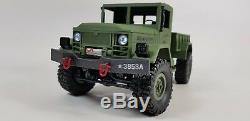 NEW Heng Long Radio Remote Control RC Truck Jeep Tank 4WD Army Military 2.4ghz