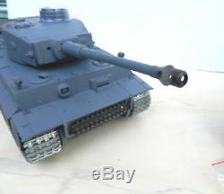 NEW Heng Long Radio Remote Control Rc German Tiger Tank SUPER PRO VERSION