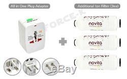 NOVITA Remote Control Electric Bidet Digital Toilet Seat BD-RA773 English Label