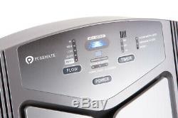 NaturoPure PM 380A Multiple Technologies Intelligent HEPA Air Purifier & Ioniser