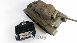 New 116 2.4G Remote Control Snow Leopard Airsoft Tank Smoking BB RC Tank