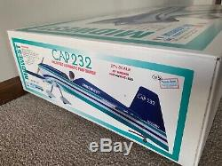 New Midwest Products Cap 232 27% Scale RC Remote Control Balsa Wood Airplane Kit