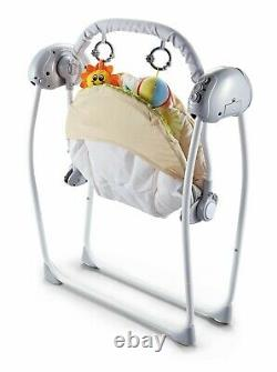 Newborn Baby Electric Swings Bouncer Musical Rocker Chair Cradle With Remote