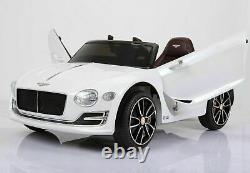 Official Bentley EXP 12 Kids Electric Ride On Car 12V Battery Remote Control