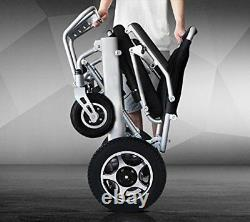 Portable Collapsible Folding Lightweight Electric Wheelchair Power Wheelchair