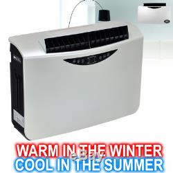 Prem-I-Air 10000 BTU Per Hour Wall Mounted Air Conditioner and Electrical Heater