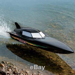 RC Radio Remote Control Tear Into Jet Boat Batman Black Stealth Devil Speedboat