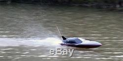 RC SALE Radio Remote Control Black Stealth EP Racing Model Speed Boat 7000 Toy