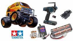 Radio Remote Control RC Tamiya Lunchbox Kit Bundle #58347