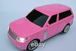 Rangie Pink Radio Remote Control Car Fast Wireless Rc 10km/h New Boxed