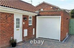 Remote control Insulated Roller Shutter GARAGE DOOR including fascia 7ft x 7ft