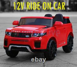 Ride On 12v Kids Electric Battery Remote Control 2.4g Toy Car