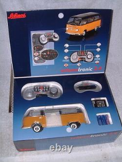 SCHUCO SCHUCOTRONIC VW T2a BUS DIE CAST REMOTE CONTROLLED 118 SCALE! NOS/NIB
