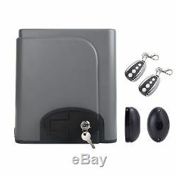 Sliding Gate Opener Automatic Electric Operator withRemote Control 4M Rack