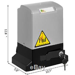 Sliding Gate Opener Electric Operator w. Remote Control Automatic Roller 600kg