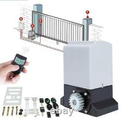 Sliding Gate Opener Electric Operator with Remote Control Automatic Roller 2000kg