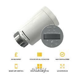 Smart Radiator Thermostatic Valves TRV Kit WiFi App Controlled Multi Zone