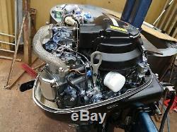 Suzuki 25hp 4 stroke electric start outboard motor remote control long shaft