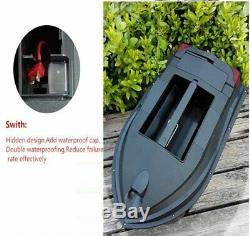 TL-380B RC Fishing Bait Boat 3KG Load Dual Body Feeding hook RC Bait Boat Black