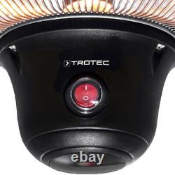 TROTEC Ceiling heater IR 1500 SC Infrared radiant Patio heater Heat radiator