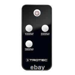 TROTEC Infrared Heater IR 3050 IR Heating Panel Patio Terrace Wall Mounting
