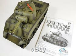 UK Heng Long Radio Remote Control RC Sherman Tank 1/16th Super Detail Cheap