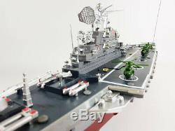 UK NEW Remote Control Navy Aircraft Carrier RC Model Speed Boat Battle Ship Toy