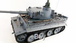 UK Radio Remote Control RC Military TANK HENG LONG 2.4G German Tiger V6.0 Model