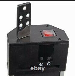 Vertical Patio Heater 2kW Remote Control Portable Outdoor Garden Free Standing