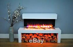 Wykeham Wall Mounted Electric Fireplace 220/240Vac 50 Hz 1&2kW