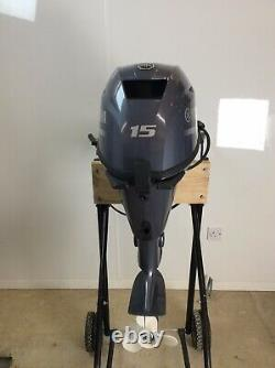 Yamaha. New. 15HP. F15CES. Short Shaft Outboard. Electric Start. Remote Control