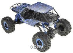 110 Rc 2.4g Hors Route Blue 24'' Rock Crawler Camion 4wd Télécommande Brossé