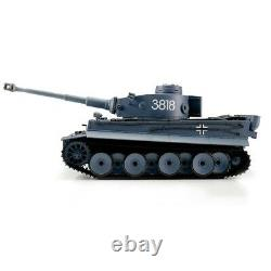 116 Heng Long Allemand Tigre I Rc Tank Airsoft & Infrared 2.4ghz Tk6.0s
