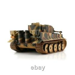 116 Torro Tiger Allemand I Rc Tank Infrared 2.4ghz Hobby Edition Camouflage