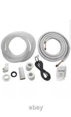 12 000 Btu Système Climatiseur Sans Conduit, Thermopompe Mini Split 220v 1 Tonne Avec Kit